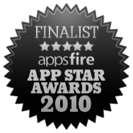 Appsfire App Star Awards 2010 Finalist